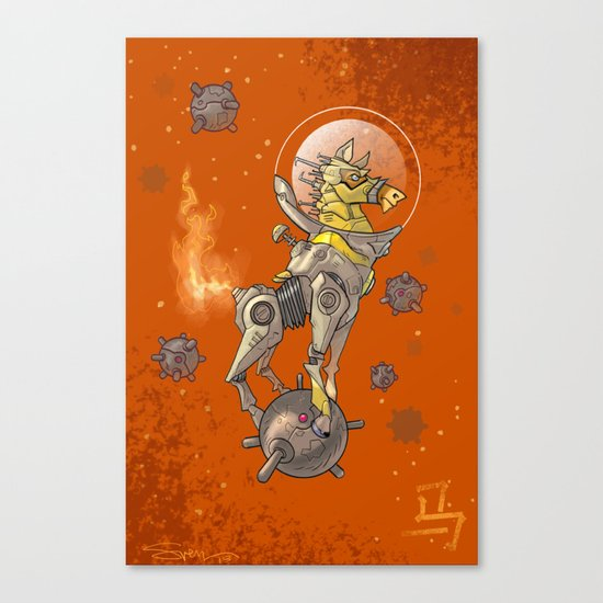 Astro Zodiac Force 07: Horse Canvas Print
