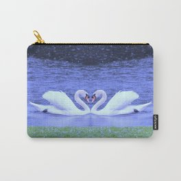 Swans in Love-light Carry-All Pouch