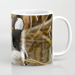 Hooded Merganser | Wildlife Photography | Birds | Nature Coffee Mug