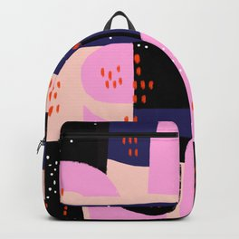 Memphis Inspired 80s Abstract Backpack