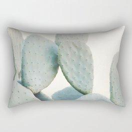 Pastel Cactus Rectangular Pillow