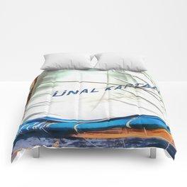 The Sails Of Unal Kaptan Comforters