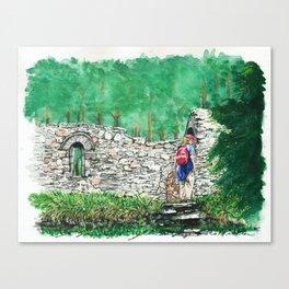 Hiking St. Saviour Canvas Print