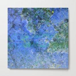Moment of Epiphany: Royal Blue Version Metal Print