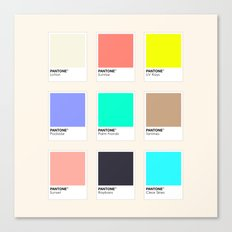 A DESIGNER'S SUMMER Canvas Print