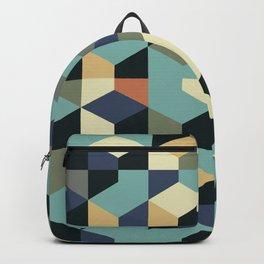 Abstract Geometric Artwork 55 Backpack