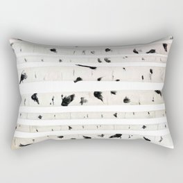 birch watercolor pattern 2018 Rectangular Pillow