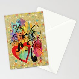 Liebe ist in der Luft - love is in the air Stationery Cards