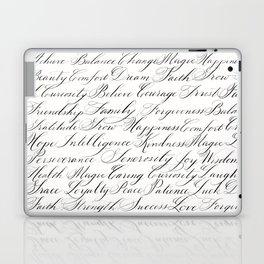 Inspirational Words II Laptop & iPad Skin
