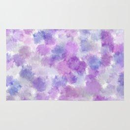 Purple Petals Rug