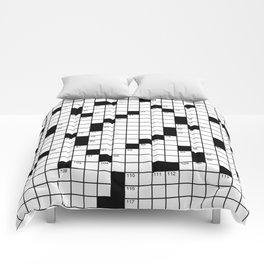 Crossword Puzzle - Write on it!  Comforters