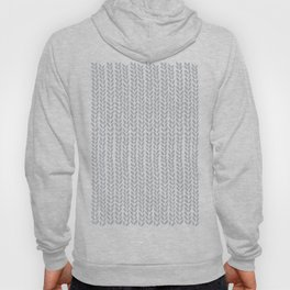 Knit Wave Grey Hoody