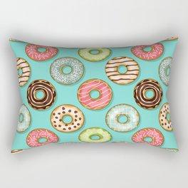 Donuts pattern Rectangular Pillow