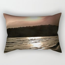 Overwhelming Waves of Sadness Rectangular Pillow