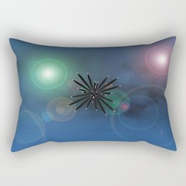 Bugs in outer space.... Rectangular Pillow