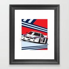 Lancia Beta Montecarlo Framed Art Print