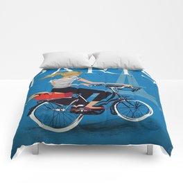 Vintage poster - Paris Comforters