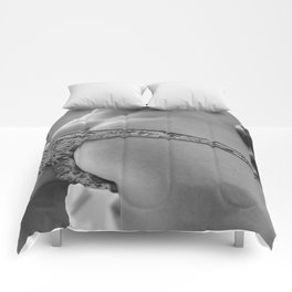 Summer in the city Comforters