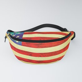 American money flag Fanny Pack