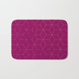 Cubed 3dPink Badematte