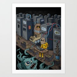 The Unit Art Print