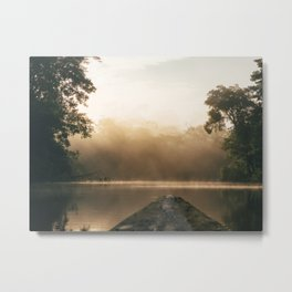 Amazonas view Metal Print