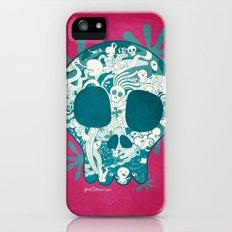 Skull Slim Case iPhone (5, 5s)