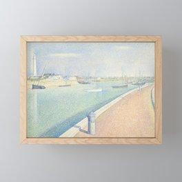The Channel of Gravelines, Petit Fort Philippe Framed Mini Art Print
