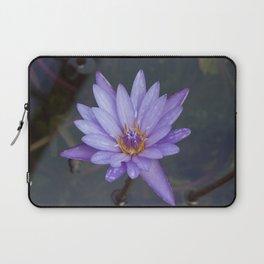 Water Lily purple Laptop Sleeve
