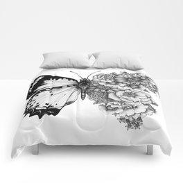 Butterfly in Bloom Comforters