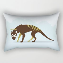 God's Zoo: Tasmanian Tiger Rectangular Pillow