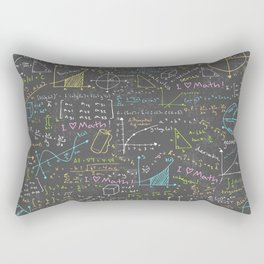 Math Lessons Rectangular Pillow