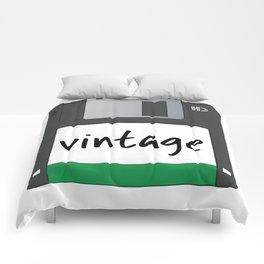 Vintage Floppy Disk Comforters