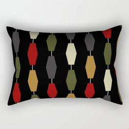 Colima - Black Rectangular Pillow