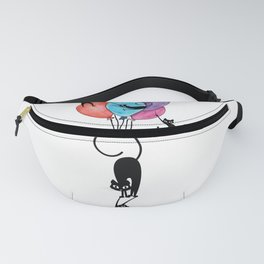 Stupid Cats Fanny Pack