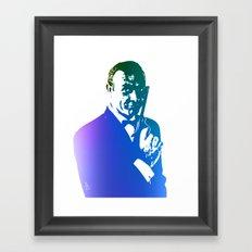 James Bond - True Blue Framed Art Print