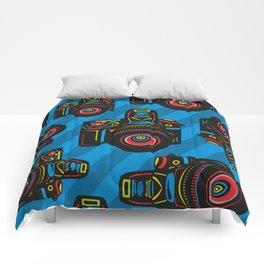 Black Camera Comforters