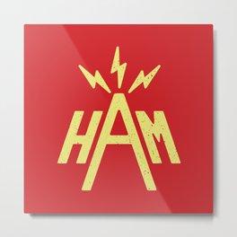 Ham Radio Metal Print