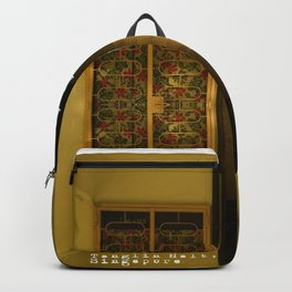 SINGAPORE ESTATE - KNOCK KNOCK Backpack