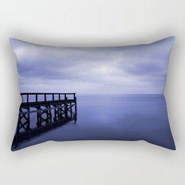 Serenity on the Lake Rectangular Pillow