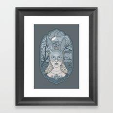The Wrong Alice Framed Art Print