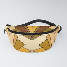 Art Deco meets the 70s - Large Scale Fanny Pack