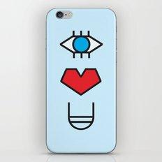 EYE HEART YOU iPhone & iPod Skin