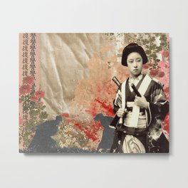 The Stained Empress Metal Print