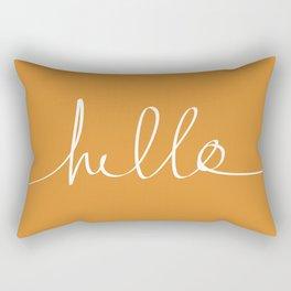 Hello, Pumpkin Rectangular Pillow