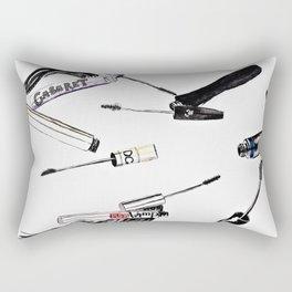 EyeLashes Mascara Rectangular Pillow