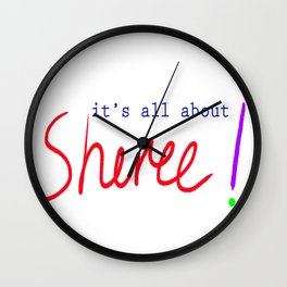 Sheree Wall Clock