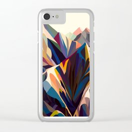Mountains original Clear iPhone Case
