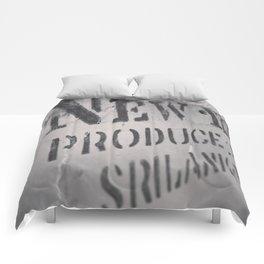 New York Crate Comforters