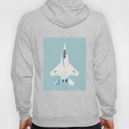 F15 Eagle Supersonic Fighter Jet Aircraft - Sky Hoody